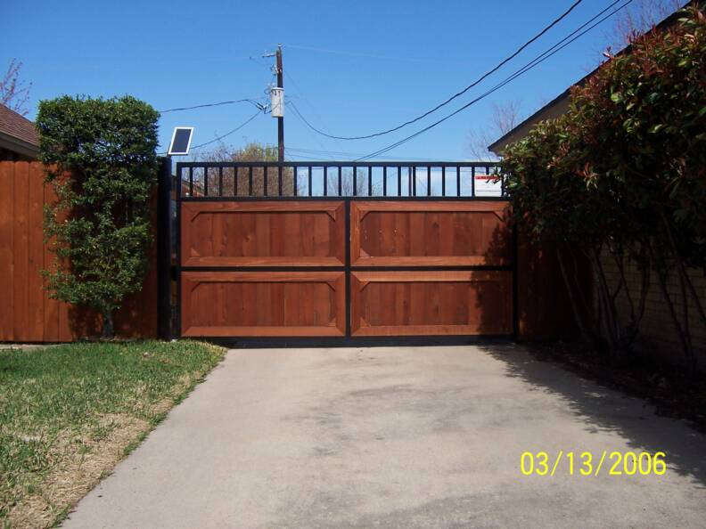 Wood fence panels fort worth texas fencing